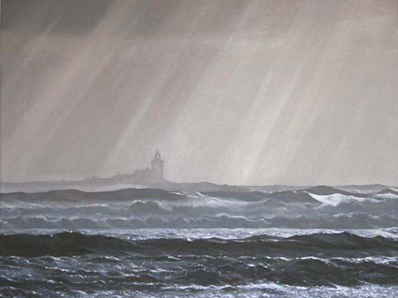 copy of 'Coquet Island on a Winter's Morning' Limited Edition Print