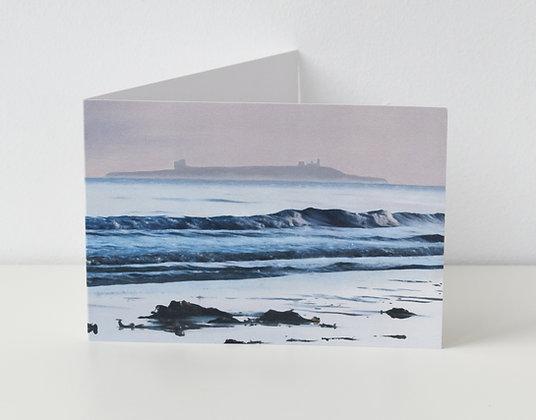 'Inner Farne at Sunrise' Greeting Card