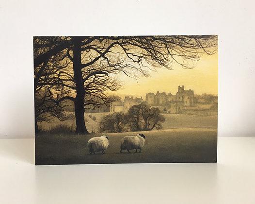 'Alnwick Castle' Greeting Card