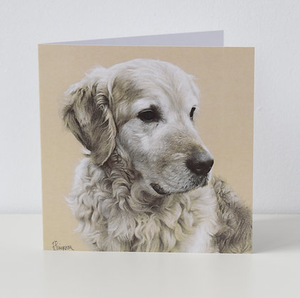 'Golden Retriever' Greeting Card