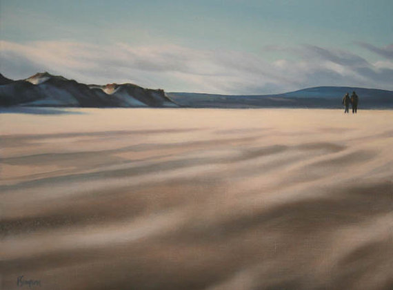 'New Year's Day at Budle Bay' Limited Edition Print