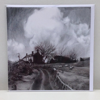 'The Farmhouse' Greeting Card