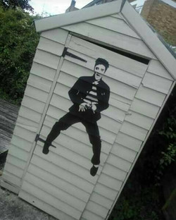 The Elvis Shed.