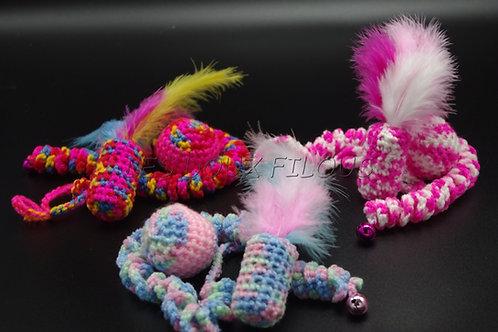 Lot de 3 jouets au crochet ©