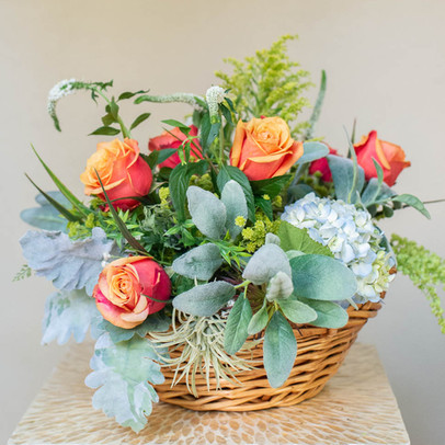 its as easy as placing it into this basket for a special look