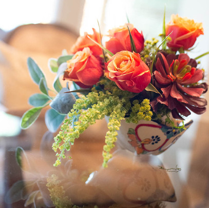 and placed into your desired vase or container