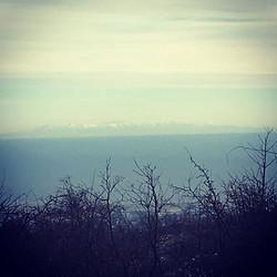 La Corse vue du haut du Col ..
