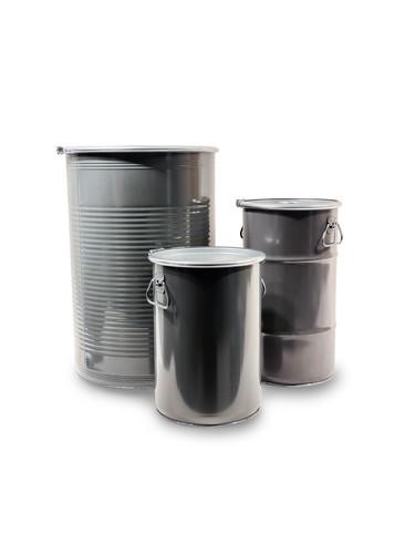 Zylindrische Deckelbehälter