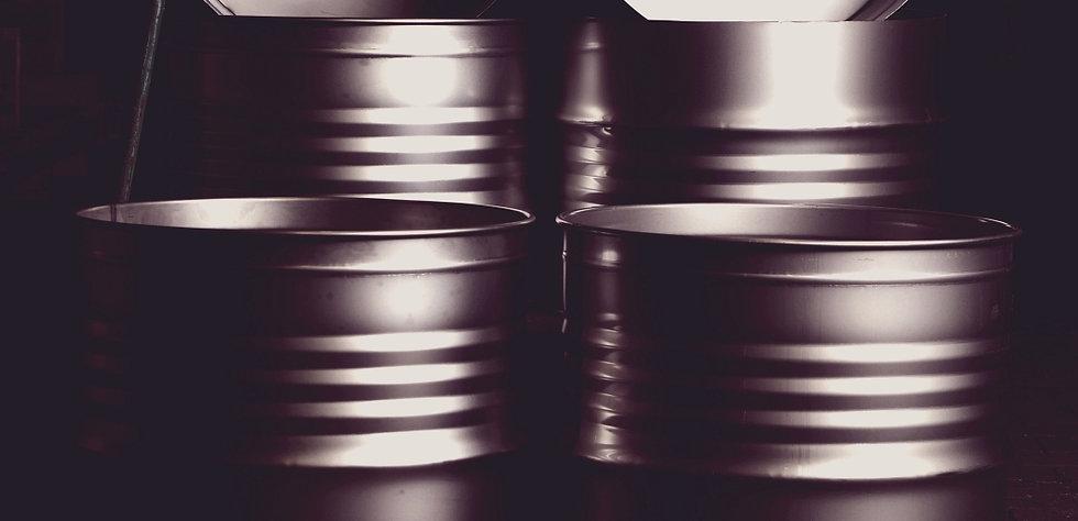 200l Stahlfass, Ölfass, Industrie, Sicken