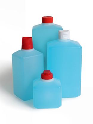 PE-Rechteckflasche 250 ml-1250 ml