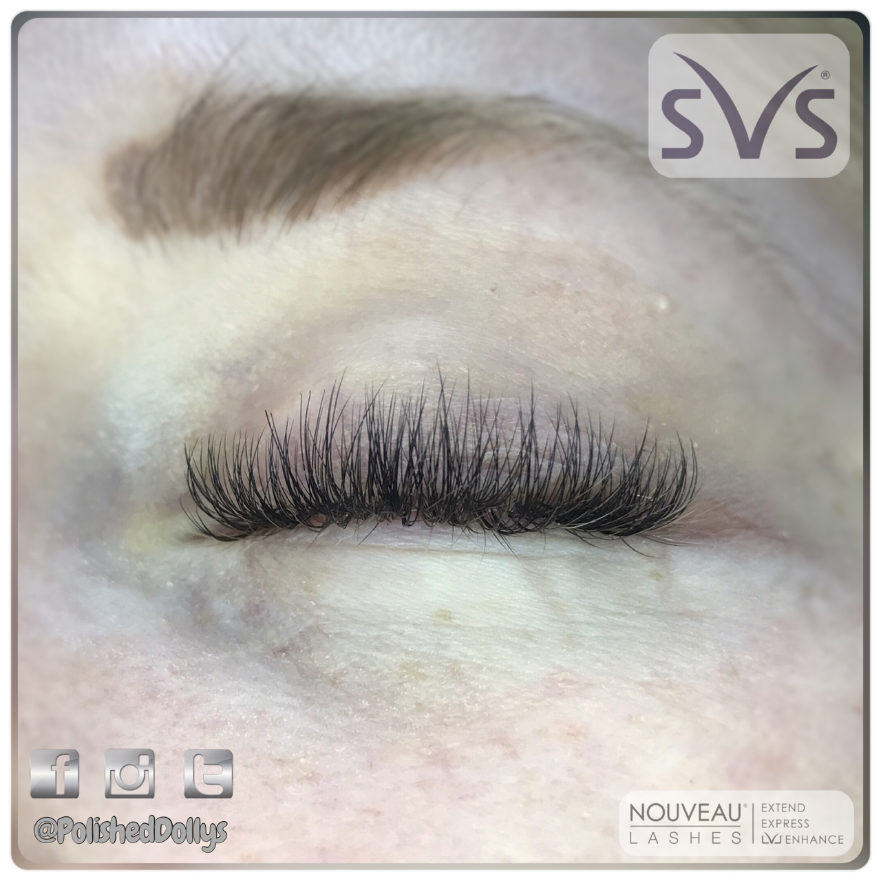 SVS volume lashes