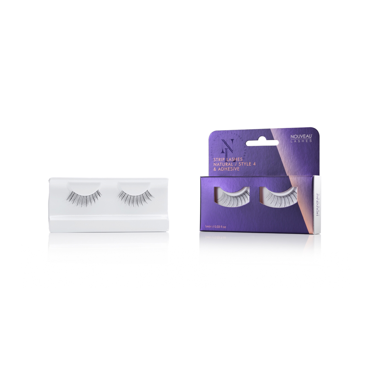 Nouveau Strip Lashes Natural Style 4