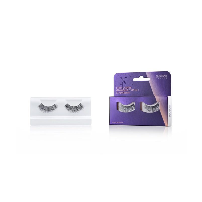 Nouveau Strip Lashes Glamour Style 1