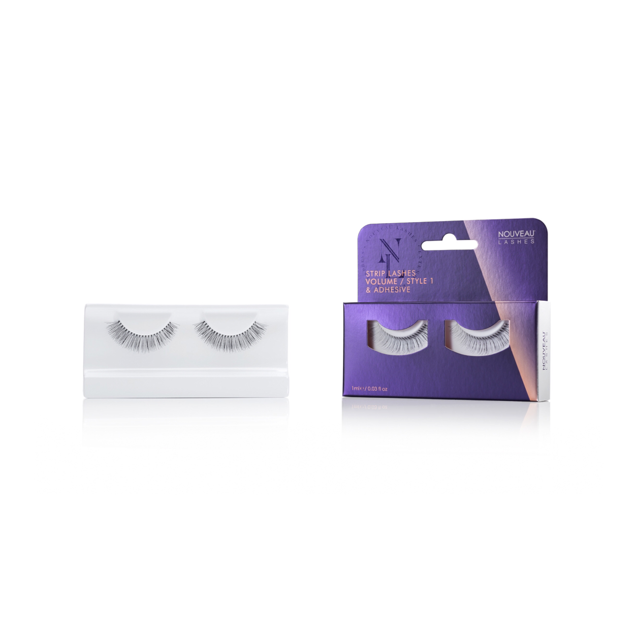 Nouveau Strip Lashes Volume Style 1