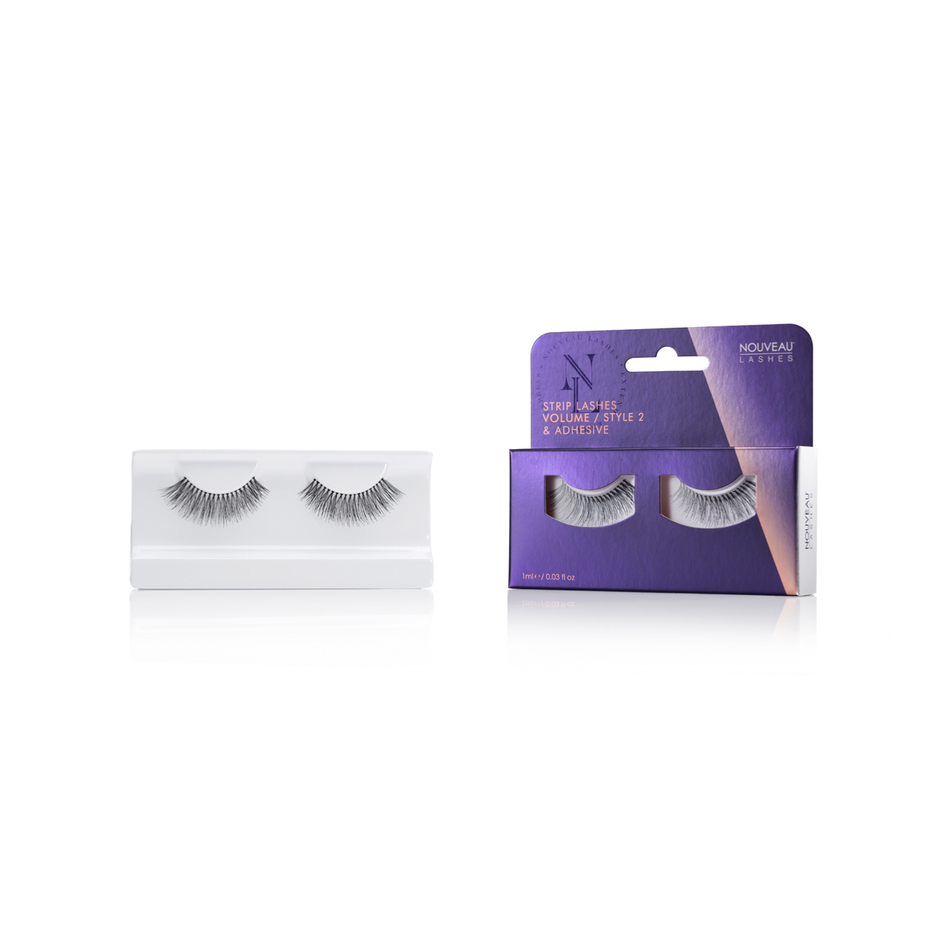 Nouveau Strip Lashes Volume Style 2