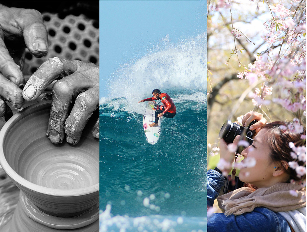 Educational Travel: photography, surfing, pottery