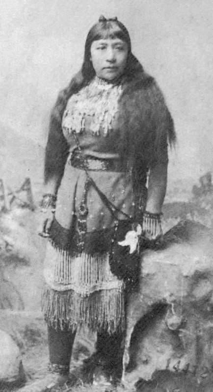 Sarah Winnemucca, a Native American activist. First Native American woman to publish an autobiography. Pioneer.