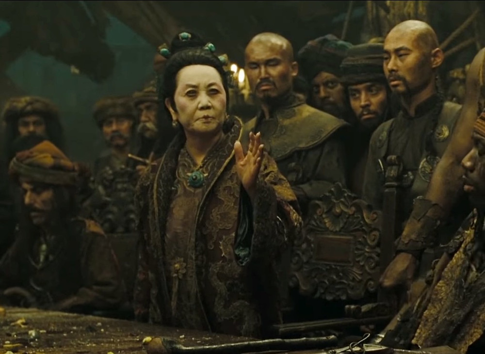 Ching Shih, Chinese female pirate and explorer, as in Disney's Pirates of the Caribbean franchise