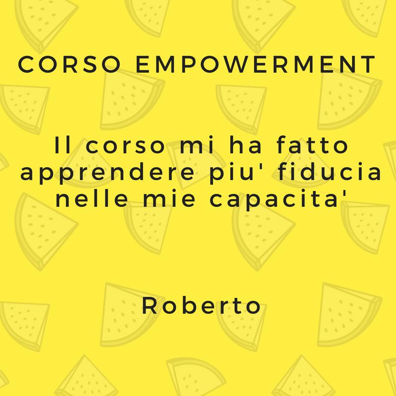 Corso di empowerment
