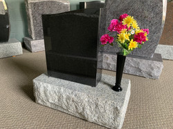 **SOLD** Jet Black with vase