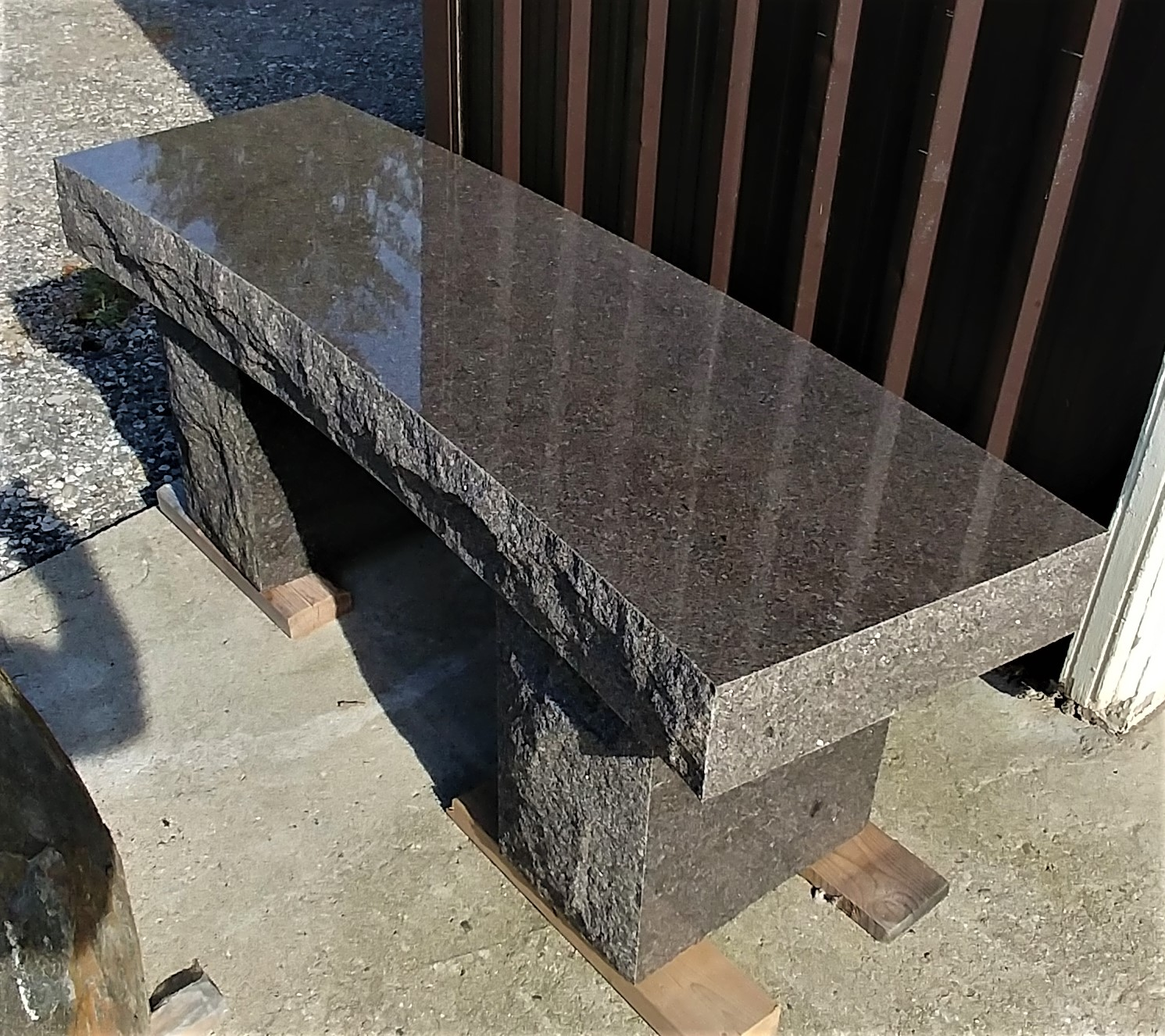 Crystal Brown Bench