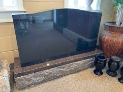 "**SOLD** Jet Black 42"" All Polished"