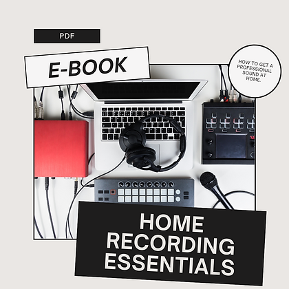 Home Recording Essentials
