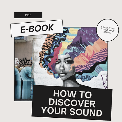 How To Discover Your Sound