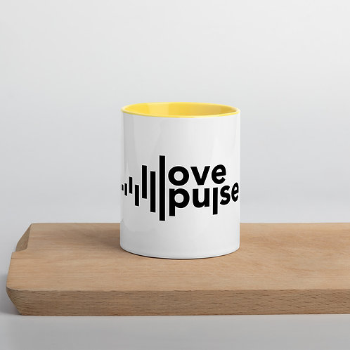 Love Pulse Mug with Color Inside