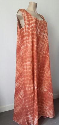 Robe longue tie & dye 46/48