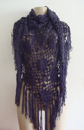 Châle violet