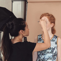 BTS for Maria Seifert Collection Shoot