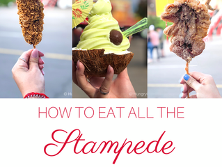 How to eat all the new Foods at the Calgary Stampede