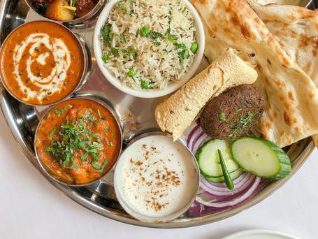 Maharani Thali (Vegetarian)