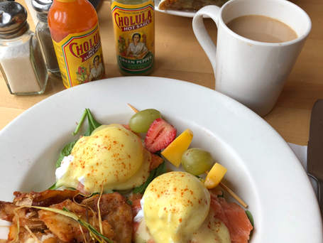 Pacific Salmon Benny - Holy Grill