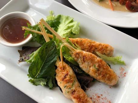 Lemon Grass Shrimp skewers - Agga