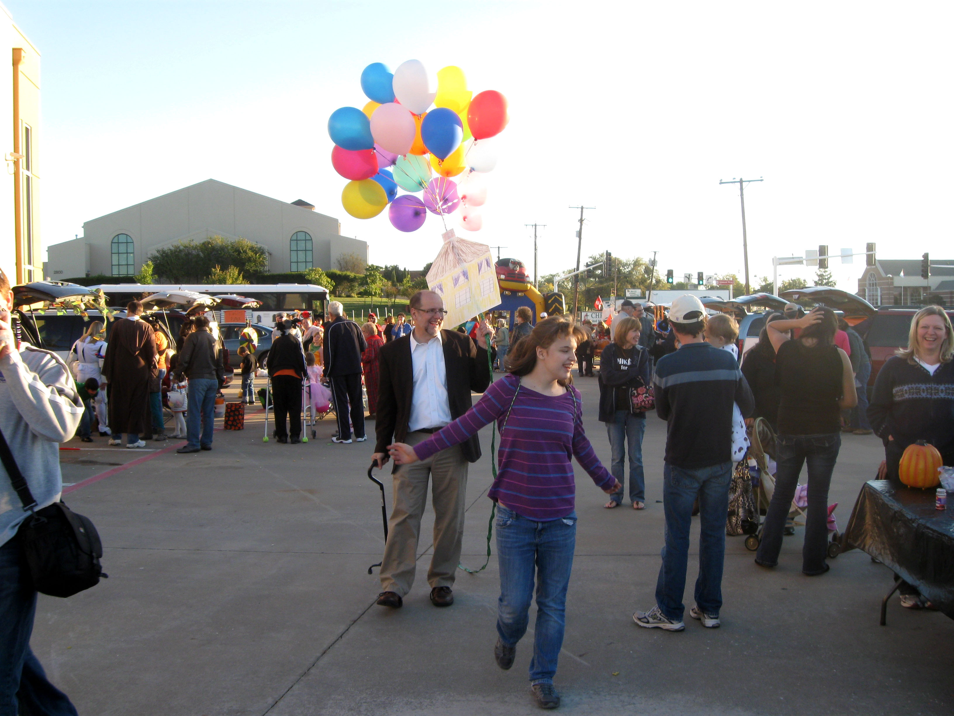 """Up"" at church event"