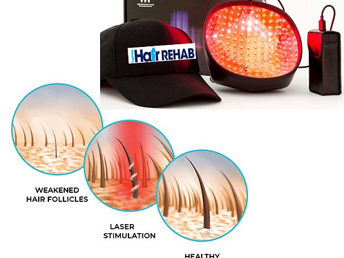 Laser Cap and Hair Rehab System