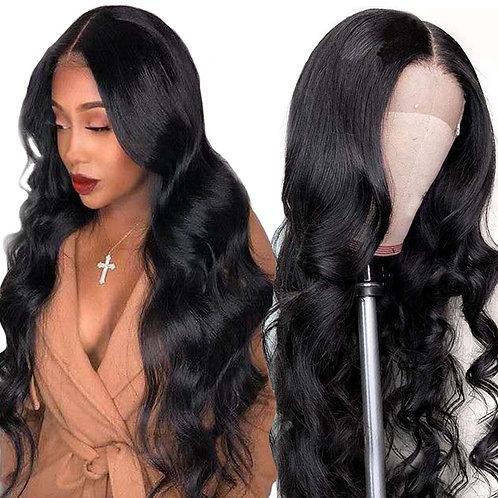 Lace Closure Wig Human Hair Wigs Body Wave Human Hair Wig  Peruvian Hair