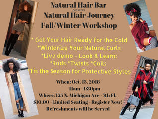 Get in on the last class of the year! #naturalhairjourney
