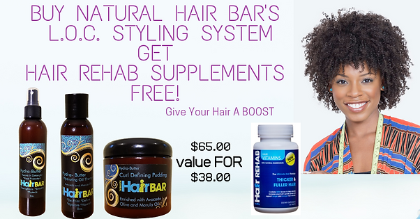 Buy any 2 Natural Styling Products get H