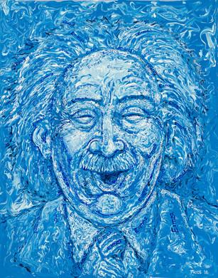 Laughing Einstein