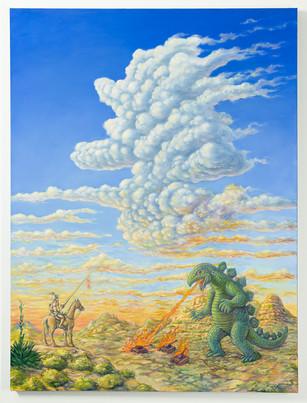 Don Quixote Meets Godzilla