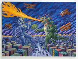 Betty vs. Godzilla
