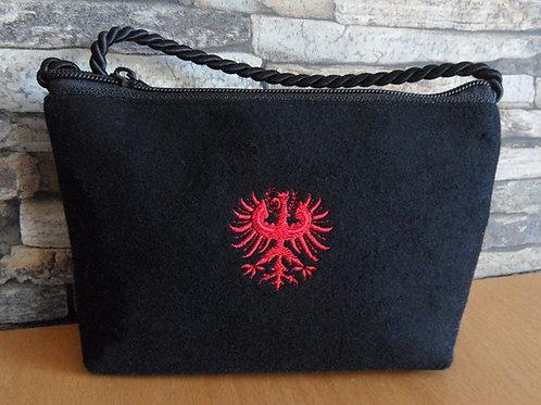 Kordel-Tasche mit Tiroler Adler-Stickerei