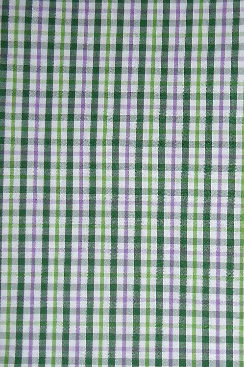 Karo-Linien Apfelgrün-dunkelgrün-flieder-weiß