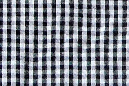 Maske Karo schwarz-weiß ( ideal für Bestickung )