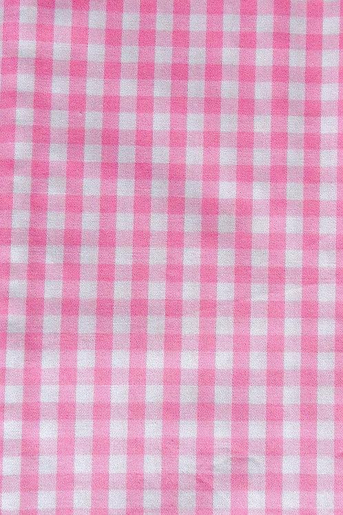 Karo rosa-weiß