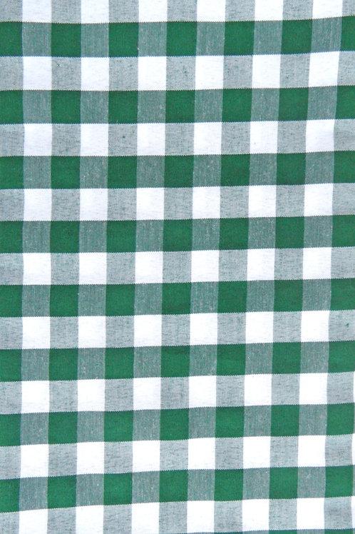 Karo dunkelgrün-weiß