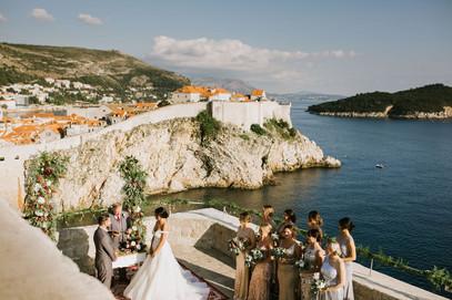 Lovrijenac Fortress Wedding Dubrovnik1.j